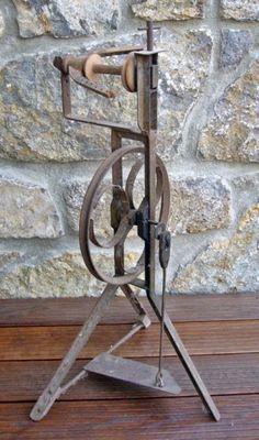 altes Spinnrad aus Metall - DEKO!! in Bayern - Wonfurt | Trödel von privat kaufen | eBay Kleinanzeigen