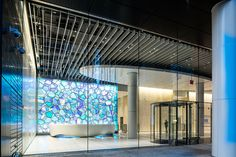 NYC-based studio SOFTlab was commissioned by one state street to create an installation for their recently renovated lobby.