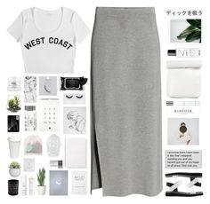 """""""Untitled #2182"""" by tacoxcat ❤ liked on Polyvore featuring H&M, Stampd, Boscia, Elle, Topshop, Georgie Beauty, Casetify, philosophy, Giorgio Armani and Threshold"""