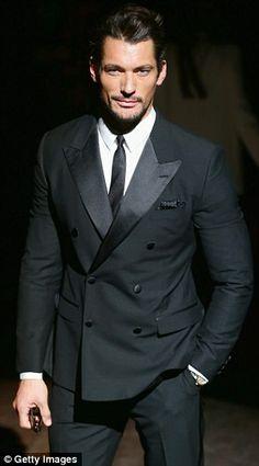 D&D Light Blue model David Gandy suits up