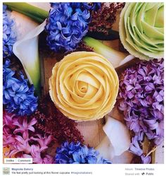 Great Facebook post from Magnolia Bakery in New York, NY / Sympathique post Facebook de Magnolia Bakery in New York, NY https://www.facebook.com/MagnoliaBakery/photos/a.108850569158437.5148.107854079258086/1034774073232744/?type=3