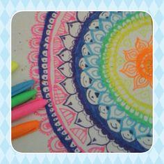 Mandalas sigan me y podrán ver 2 o más dibujos al día Beach Mat, Outdoor Blanket, Draw, Mandalas