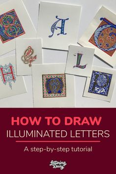 Create beautiful illuminated letters from scratch using real gold with Sue Higgnson!
