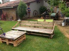 Pallets garden set | 1001 Pallets
