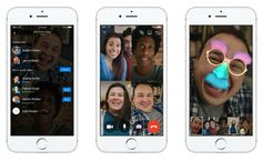 Facebook lanza chats de video en grupo por Messenger http://j.mp/2hBKevx