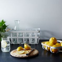 Steel & Ash Storage Basket on Food52