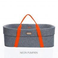 The Wool Nest by moKee | Neon Pumpkin Handle - Wool Nest