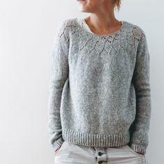 Knitting Patterns Sweaters Ravelry: Yume pattern by Isabell Kraemer Sweater Knitting Patterns, Lace Knitting, Knitting Stitches, Knit Crochet, Crochet Patterns, Knitting Sweaters, Cardigan Pattern, Knitting Projects, Look Fashion