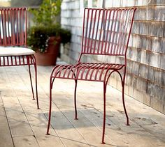 Soleil Chair - love this color, I can keep it outside and don't have to wipe off the rain.  Great for my tiny city balcony.