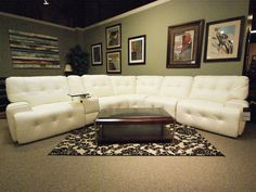A large white sectional for any living space #living #furniture #designs #decor explore freeds.net