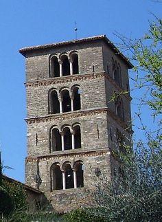 Abbazia di Farfa : campanile.