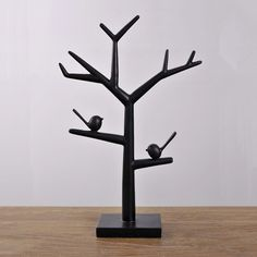 >> Click to Buy << American modern minimalist classic black bird ornaments jewelry frame station branches creative display window display rack #Affiliate