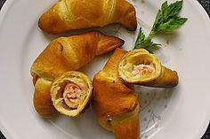 Räucherlachs - Croissants (Rezept mit Bild) von Heddu | Chefkoch.de