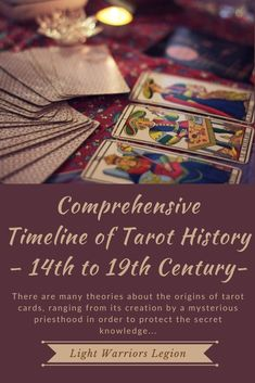 There are many theories about the origins of tarot cards, ranging from its creation by a mysterious priesthood in order to protect the secret knowledge, to simple and meaningless cards used for entertainment in Europe in the century. Tarot Cards Major Arcana, Free Tarot, Tarot Card Meanings, Cartomancy, 14th Century, Tarot Decks, Deck Of Cards, Origins, Occult