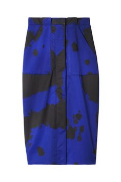 Adam Selman skirt, $485, French Garment Cleaners, Brooklyn, NY; 718-797-0011.