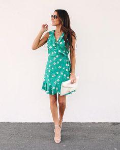 c00895737a2 Maggie Floral Wrap Dress - FINAL SALE Wrap Dress Floral