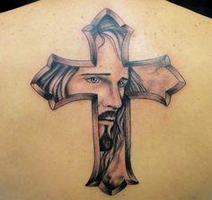 Jesus tattoo by Bruno Lança