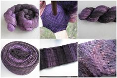 Sourkraut on Ravelry made Trees with this fabulous handspun!! #ballee #breipatroon