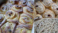 Tvarohoví šneci s rozinkami | NejRecept.cz Sweet, Cookies, Snails, Breads, Food, Basket, Recipes, Fine Dining, Candy