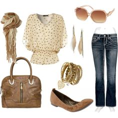 af144cb3b775 inspiration for my fall fashion collection - classic cream and brown. Marie  Zimmermann · Back to school outfits