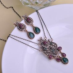 Cheap set top box cable, Buy Quality jewelry set sale directly from China jewelry cufflink Suppliers:            2015 New Fashion Turkish Jewelry Collar Feminino Antique Gold Tin Alloy Tukishe Necklace Earring