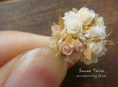 Miniature bouquet #miniatureflowers