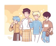 Manhwa, Dibujos Cute, Webtoon Comics, Couple Cartoon, Chica Anime Manga, Cute Gay, Boyfriend Girlfriend, Fujoshi, Character Design Inspiration
