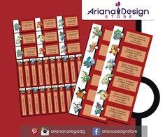 Kit Imprimible de #etiquetas personalizadas con el motivo #Pokemon.   3 tamaños: 9 x 3,5 cm, 5 x 1 cm y 5 x 3 cm.     Personalized and printable #labels pack - #PokemonGo.    3 sizes: 9 x 3,5 cm, 5 x 1 cm and 5 x 3 cm.     Tienda/Shop: https://arianadesignstore.etsy.com