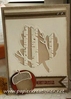Papierkreationen.net: maple leaf, acorn and Co.