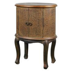 Have to have it. Uttermost Ascencion Drum Accent Table $261.8