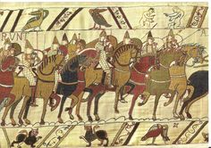 The Bayeux Tapestry (depicting the Battle of Hastings and the events leading up to it)