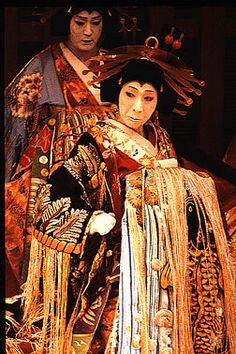 Kabuki and the Floating World of Tokugawa Japan  Oiran onnagata