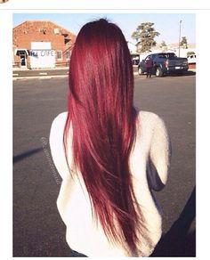Red hair. Cabellos rojo.
