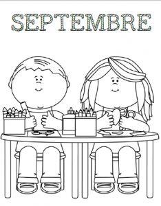 58 Meilleures Images Du Tableau Les Mois Preschool Coloring Pages