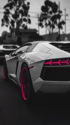 Lamborghini Aventador Sportscar Dark #iPhone #6 #wallpaper