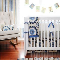 NewArrivalsInc.: New Arrivals Inc - Dakota Blue Baby Bedding