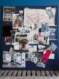 Mood board- put up inspirations, ideas, wish lists, etc!