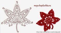 Ír horgolt &: Virágok és levelek rendszerek