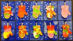 Winter Mitten Art This colorful mittenart is a fun activity brighten a cold winters day. Its also a great way to use tissue paper left over from the holiday season. The post Winter Mitten Art was featured on Fun Family Crafts. Kindergarten Art, Preschool Crafts, Kids Crafts, Winter Art Projects, Christmas Crafts For Kids, Family Crafts, Christmas Paper, Christmas Trees, Art Plastique