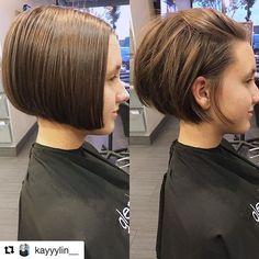 WEBSTA @ glenalansalonsouthlake - #Repost @kayyylin__ By Kaylin・・・from sleek to grunge in 2.5✂️ #sleekbob #razorbob #razorcut #texture #style #bumbleandbumble #cityswept #shorthair #icuthair #lovewhatyoudo #glenalansalonsouthlake #modernsalon #behindthechair #btcpics #hairbrained #americansalon