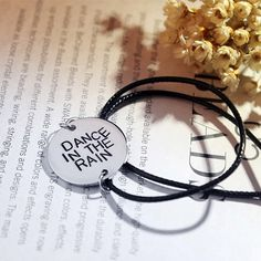 """Dance In The Rain"" Bracelet - Save 69% Off Retail! Only $14  #mobstub"