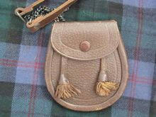 Vintage Leather Child's Scottish Sporran