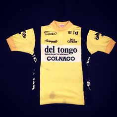 One of Italy's great teams  del tongo #Colnago formed in early 80 's and later became the basis for Lampre in 91 . Cipollini , Fondriest & Ballerini were some of their champions .