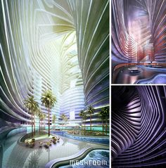 Selected Architectural Visualisations by Dimitar Karanikolov, via Behance