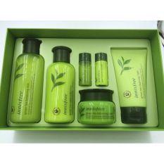 Innisfree Green Tea Balancing Special Skin Care Set 6 In 1 Trang điểm Chăm Soc Da Chăm Soc Mặt