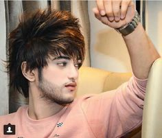 Ł.... Hair Look Boy, Hot Men, Hot Guys, Khan Khan, Indian Boy, Boys Wallpaper, Social Media Stars, Photography Poses For Men, Boys Dpz