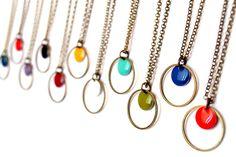 Dot collection: necklace from Les Fantaisies de Léonie by DaWanda.com