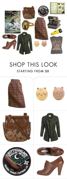 """""""Untitled #99"""" by and-he-shall-be-my-squishy ❤ liked on Polyvore featuring Bill Blass, Hot Topic, Miss Selfridge, Polaroid and Oxford"""