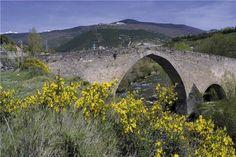 Puente de San Miguel, Jaca, Huesca, España.