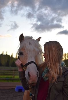 Horse and human bond. @ Eva. Board Equestrian